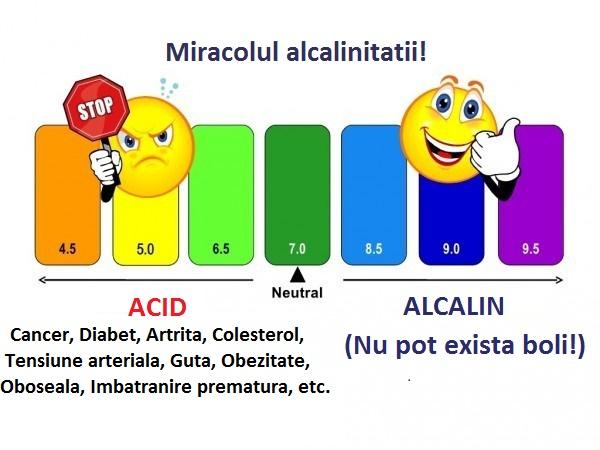 alcalin-acid, apa kangen reface echilibrul alcalin sanatos 0732 062 776